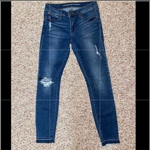 Articles of Society Ankle Skinny Jeans